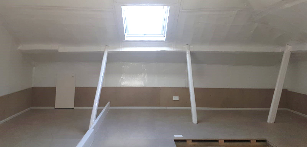 Dust Proof Attic Construction South Sydney
